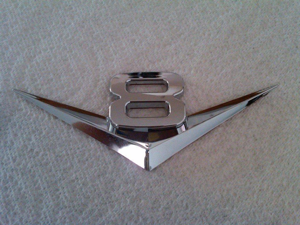 V8 Emblems
