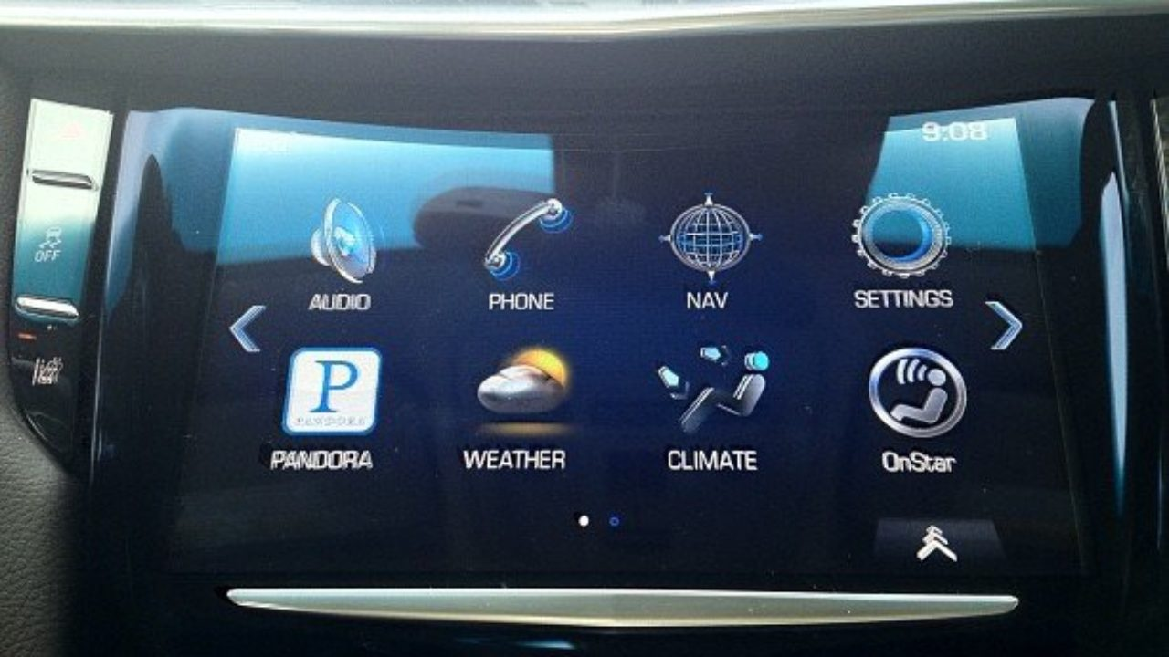 Cadillac CUE Touch Screen Not Working – Cadillac Parts, Performance